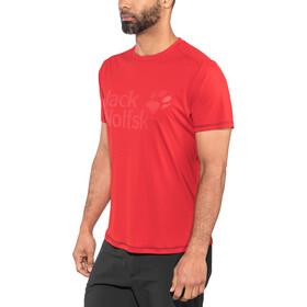Jack Wolfskin Sierra T-Shirt Homme, ruby red